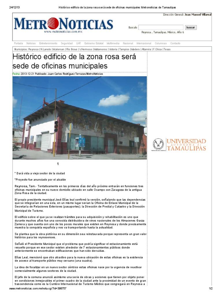 21 12 2013 Histórico Edificio De La Zona Rosa Será Sede De