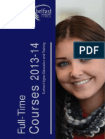 Belfast Met Prospectus - 2013