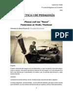 Práctica 1 de pedagogía
