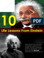 10 Life Lessons From Einstein