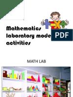 Mathematics Laboratory Model Presentation