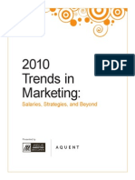 2010 trends in marketing