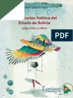 Constitución Política del Estado de Bolivia para niñas y niños