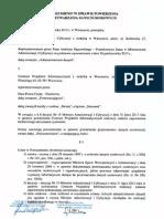 Porozumienie w sprawie powierzenia przetwarzania danych osobowych zawarte w dniu 31.10.2013 r. pomiędzy Ministrem Administracji i Cyfryzacji a dyrektorem CPI