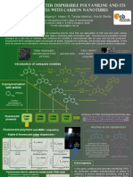 Poster Carbazole-Polyaniline composites