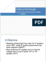 Improving Reading Achievement for Older Readers