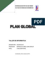 Plan Global Access 2013