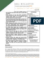 August 2009 Burma Bulletin