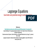 Lagrange Equation 1