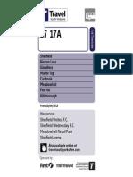 17 17A Sheffield Valid From 28 April 2013 (PDF)