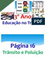 Educação no Trâsito (3º ano)