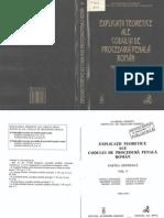 Explicaţii teoretice ale Codului de Procedură Penală Român - Partea generală - vol.V - V.Dongoroz