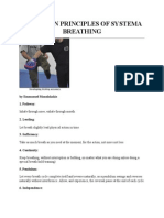 The Seven Principles of Systema Breathing