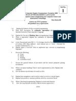 NR-310505 Principles of Programming Languages