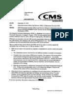 Draft CMS Obamacare Security Memo 9.24.2013