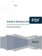 oracle e-business suite r12 installation guide step by step on linux