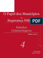Manual Estudos Criminológicos