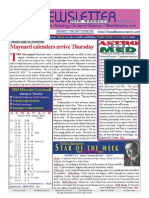 ASTROAMERICA NEWSLETTER DATED OCTOBER 29, 2013