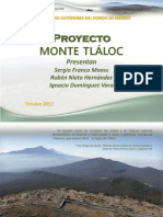 Proyecto Monte Tlaloc