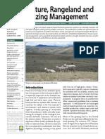 Sustainable Pasture Rangeland & Grazing