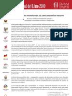 FIL Nota de Prensa