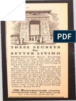 AMORC - 1941 Ad for The Secret Heritage.