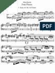Bartok - DD.71 - 4 Pieces