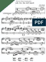 Bartok - Etude for the Left Hand %281903%29