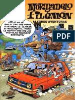 Mortadelo y Filemon Alegres Aventuras
