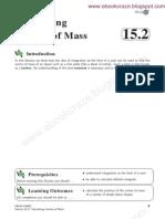 15 2 Calculate Cntre of Mass