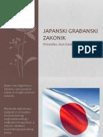 Japanski građanski      zakonik