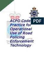 ACPO Code of Practice