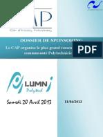 2.Dossier de Sponsoring Polytech Alumni Day 2013 Alstom