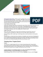 Painting Ideas Virginia Beach