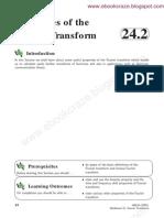 24 2 Properties Fourier Trnsform