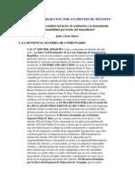 RESPONSABILIDAD CIVIL POR ACCIDENTES DE TRÁNSITO