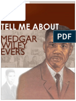 Tell Me About Medgar Wiley Evers
