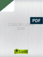 Folder Produtos Lopas 2013