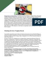 Painting Services Virginia Beach
