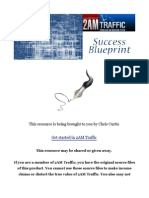 Succeed as a Blogger with the 2AM Traffic Success Blueprint