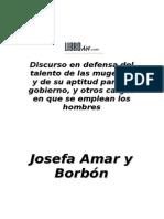 AMAR BORBON - Discurso en Defensa de Las Mugeres
