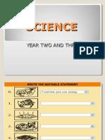 Latihan sains tahun 2 dan 3