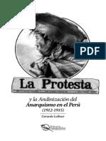 Gerardo Leibner - La Protesta y la Andinización del Anarquismo en el Perú, 1912-1915 (lectura)