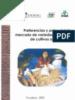 """BVCI0001289 - """"Preferencias y potencial de mercado de variedades locales"""""""