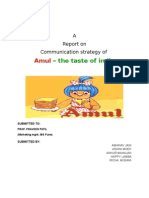 Project Report on Amul Sec b
