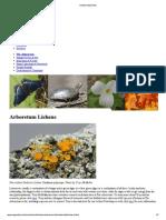 Biodiversity Lichens
