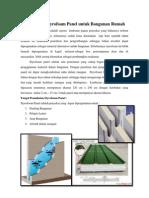 Pemakaian Styrofoam Panel Untuk Bangunan