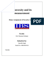 Convexity and Its Measurement(for bond valuation)