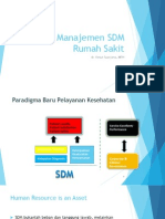 Siklus Manajemen SDM Rumah Sakit