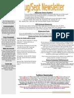 Sanford August Newsletter